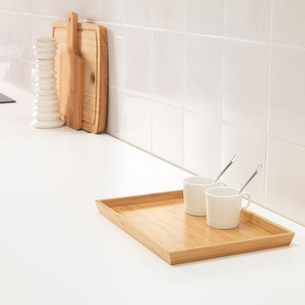 OSTBIT Tablett, Bambus, 25x33 cm