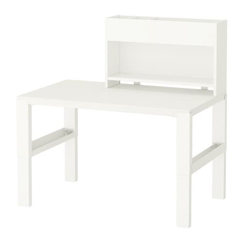 Ikea Regal Mit Schreibtisch ~ Schreibtisch mit Aufsatz Dreifach höhenverstellbar  wächst mit