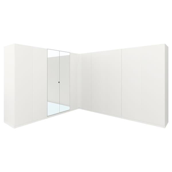 PAX Eckkleiderschrank weiß/Forsand Vikedal 201.2 cm 310.0 cm 310.0 cm