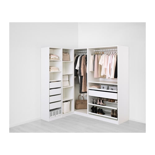 pax eckkleiderschrank 160 188x201 cm ikea. Black Bedroom Furniture Sets. Home Design Ideas