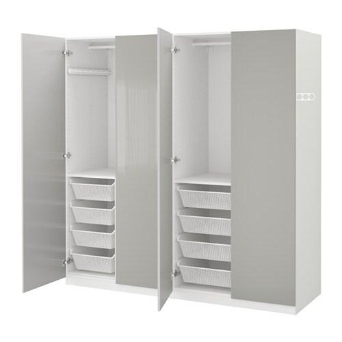 pax kleiderschrank 200x60x201 cm ikea. Black Bedroom Furniture Sets. Home Design Ideas
