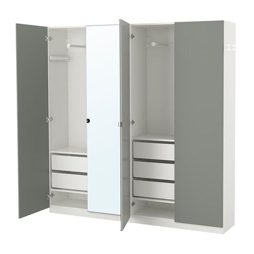 pax kleiderschrank 200x38x201 cm ikea. Black Bedroom Furniture Sets. Home Design Ideas