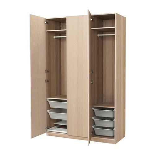 Kleiderschrank Weiß Mit Spiegel Ikea ~  Schlafzimmer  Kleiderschränke  PAX System Kombinationen mit Türen