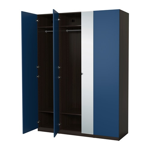 pax kleiderschrank 175x60x236 cm scharnier ikea. Black Bedroom Furniture Sets. Home Design Ideas