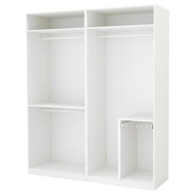 PAX Kleiderschrank weiß 200 cm 58 cm 236.4 cm