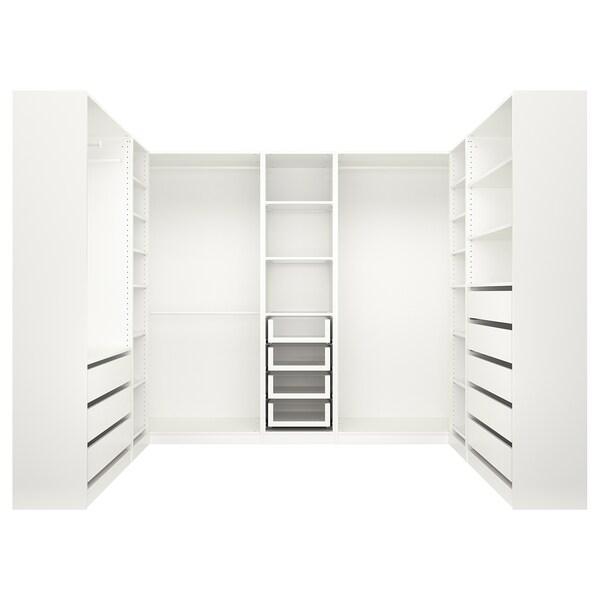 PAX Kleiderschrank weiß 275.9 cm 210.5 cm 201.2 cm