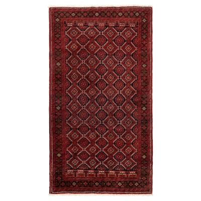 PERSISK BELUTCH Teppich Kurzflor, Handarbeit versch. Muster, 100x200 cm