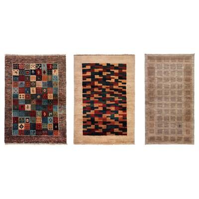 PERSISK GABBEH L Teppich Langflor, Handarbeit versch. Farben, 110x175 cm