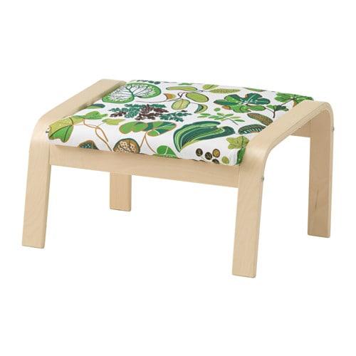 wohnzimmer petrol grau:IKEA Poang Footstool Cushion