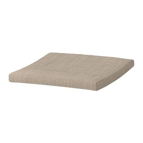 po ng polsterkissen f r hocker hillared beige ikea. Black Bedroom Furniture Sets. Home Design Ideas