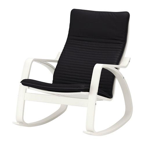 po ng schaukelstuhl knisa schwarz ikea. Black Bedroom Furniture Sets. Home Design Ideas