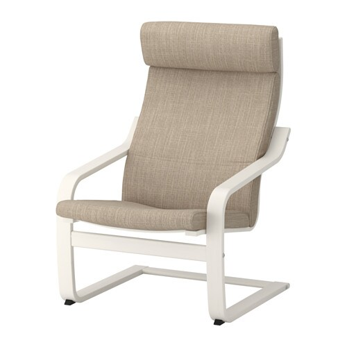 po ng sessel hillared beige ikea. Black Bedroom Furniture Sets. Home Design Ideas