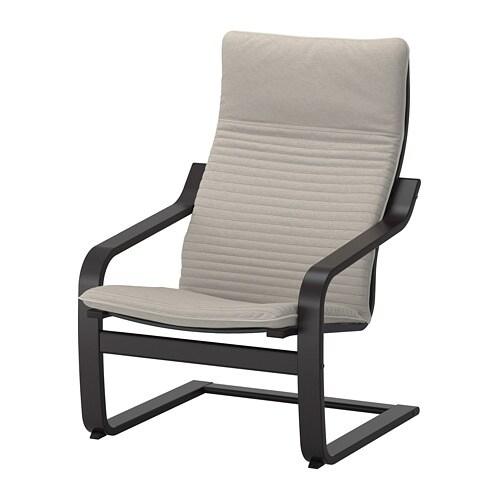 po ng sessel knisa hellbeige ikea. Black Bedroom Furniture Sets. Home Design Ideas