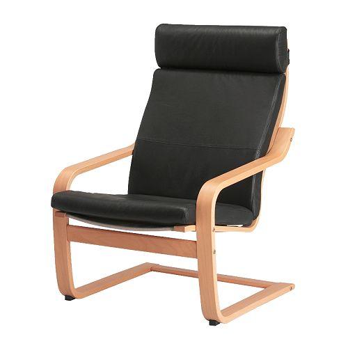Ikea Sessel poäng sessel smidig schwarz ikea