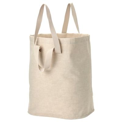PURRPINGLA Wäschesack, beige, 100 l