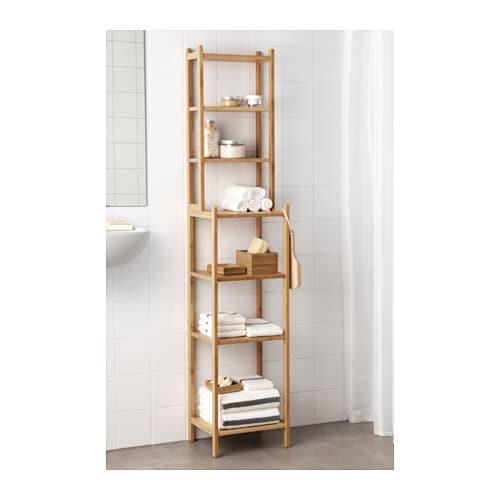 rgrund regal ideal fr ein kleines badezimmer bambus ist ein strapazierfhiges naturmaterial