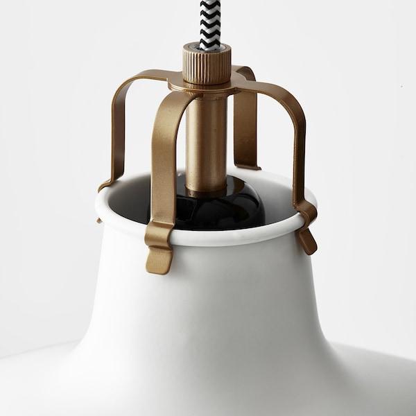 RANARP Hängeleuchte, elfenbeinweiß, 38 cm