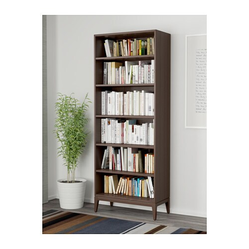 ikea billy b cherregal schwarz braun 80x28x106 cm smash. Black Bedroom Furniture Sets. Home Design Ideas
