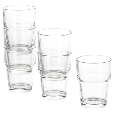 REKO Glas Klarglas 9 cm 17 cl 6 Stück