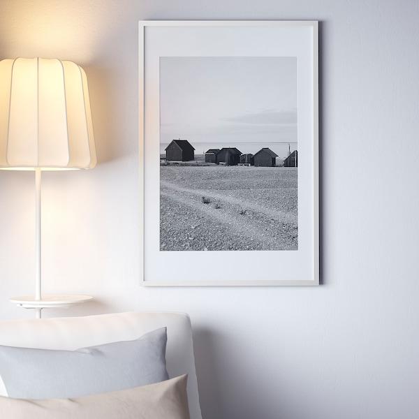 RIBBA Rahmen, weiß, 61x91 cm