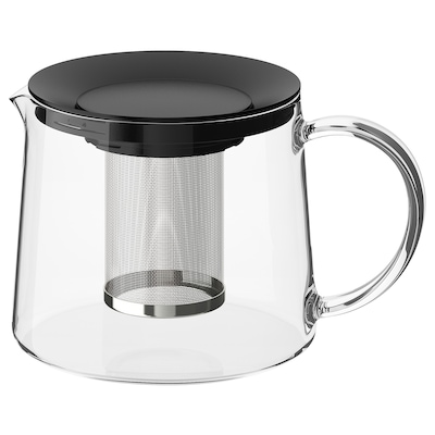 RIKLIG Teekanne, Glas, 1.5 l