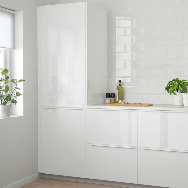 RINGHULT Tür, Hochglanz weiß, 60x60 cm