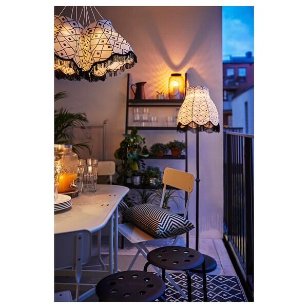 SALLADSKÅL Blumenständer, für draußen/grau, 173 cm
