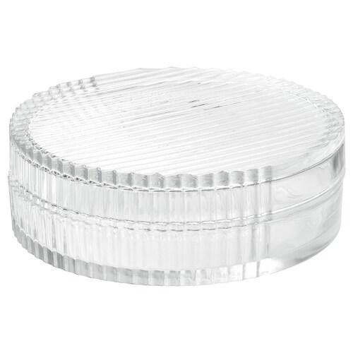 IKEA SAMMANHANG Glasbehälter mit deckel
