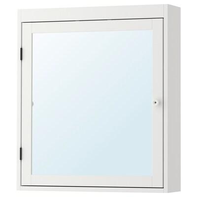 SILVERÅN Spiegelschrank weiß 60 cm 14 cm 68 cm