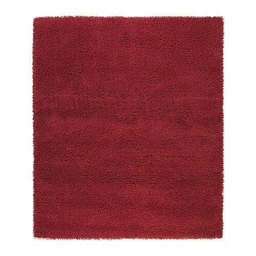 Teppich Rot Ikea : SKÅRUP Teppich Langflor Langfaserige Wolle ist besonders ...