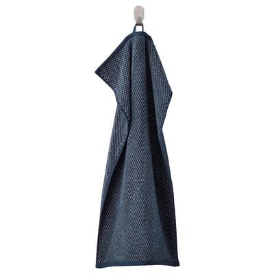 SKUTTRAN Handtuch, dunkelblau/meliert, 40x70 cm