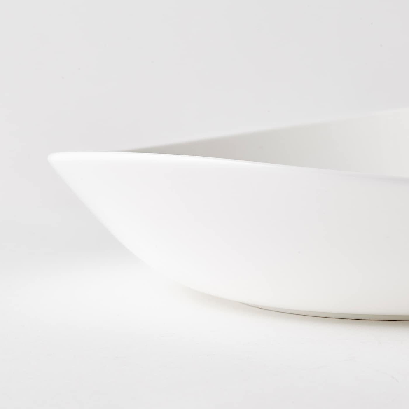 SKYN tiefer Teller weiß 24 cm 2 Stück