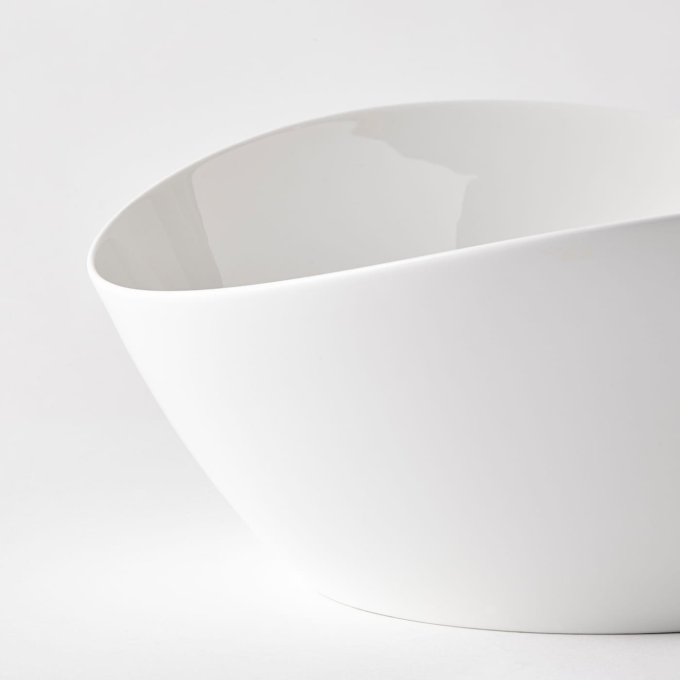SKYN Servierschüssel weiß 13 cm 31 cm