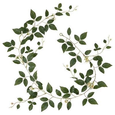 SMYCKA Girlande, drinnen/draußen Rose/weiß, 1.5 m