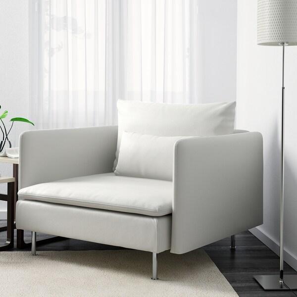 SÖDERHAMN Sessel Finnsta weiß 105 cm 99 cm 83 cm 93 cm 48 cm 40 cm