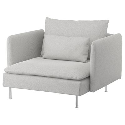 SÖDERHAMN Sessel, Tallmyra weiß/schwarz
