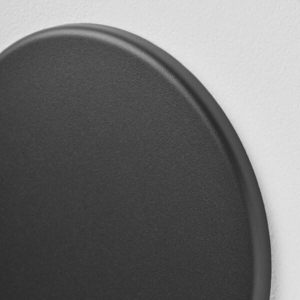 SÖRHASSEL Notiztafel mit Magneten schwarz 30 cm 73 cm 1 cm