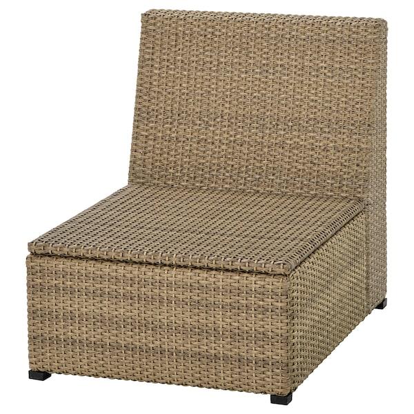SOLLERÖN Sitzelement 1/außen, braun
