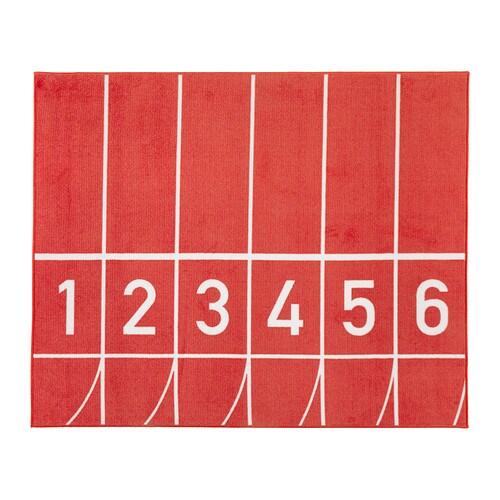 Springa teppich kurzflor ikea for Ikea teppich rot