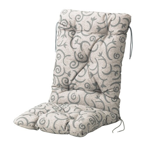 STEGÖN Sitz und Rückenpolsteraußen Bänder verhindern das