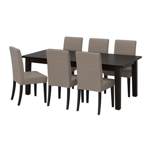 storn s henriksdal tisch und 6 st hle ikea. Black Bedroom Furniture Sets. Home Design Ideas