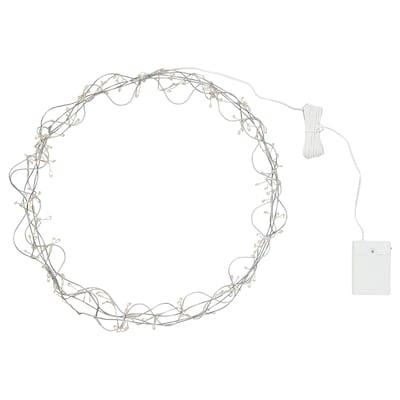 STRÅLA LED-Hängeleuchte, batteriebetrieben/ringförmig