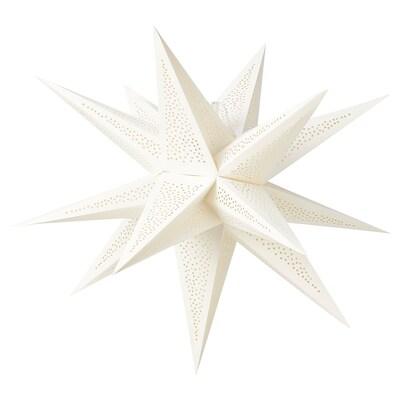 STRÅLA Leuchtenschirm, 3-D/Punkte weiß, 67 cm