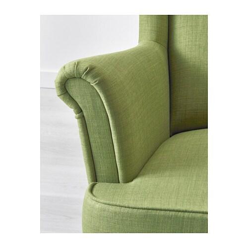 2017 Ohrensessel Ikea Grün