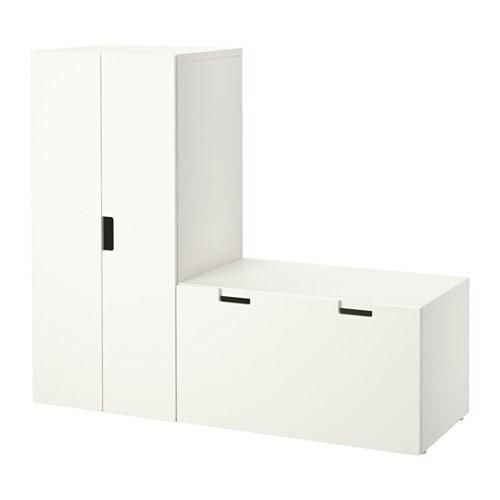 Ikea Eckschrank Tür Zusammenbauen ~ STUVA Aufbewahrung mit Bank Auf Kindergröße abgestimmt, damit die