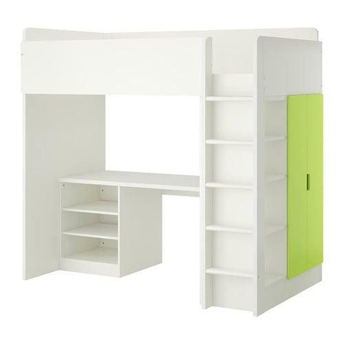 Ikea Eckschrank Tür Zusammenbauen ~   fürs Kinderzimmer  mit Schreibtisch, Regal und Kleiderschrank