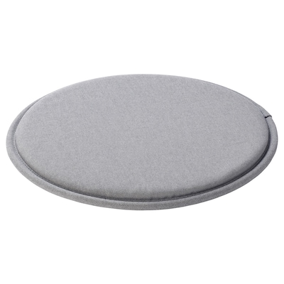 SUNNEA Stuhlkissen, grau, 36x2.5 cm