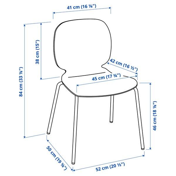 SVENBERTIL Stuhl, schwarz/Broringe schwarz