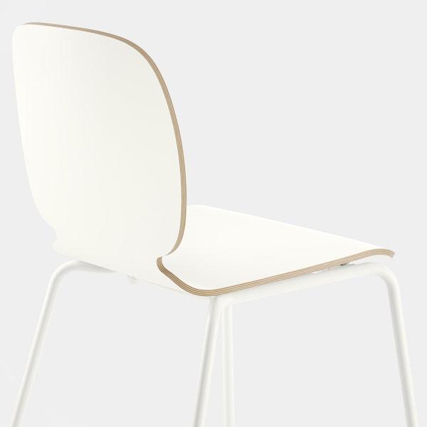 SVENBERTIL Stuhl, weiß/Broringe weiß