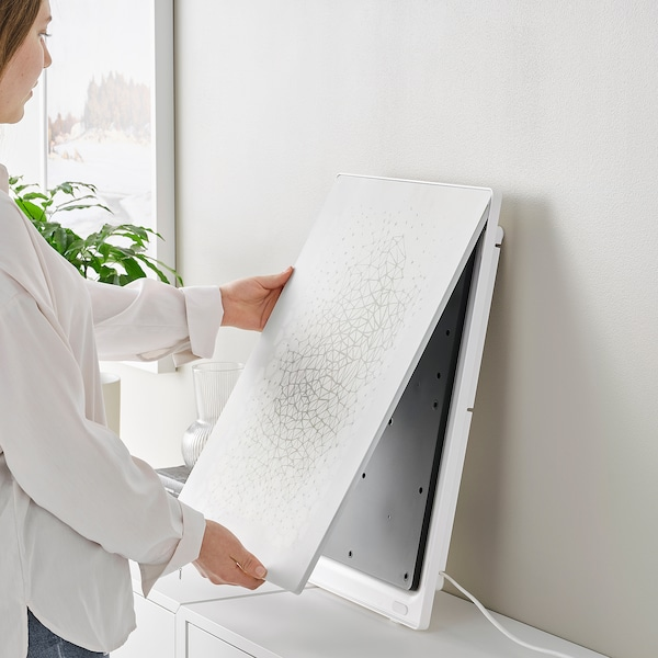 SYMFONISK Rahmen mit WiFi-Speaker, weiß